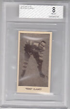 1933-34 V129  KING CLANCY #8    BVG 8 (NEAR MINT-MINT)