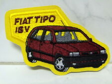 Aufnäher Aufbügler Patch Fiat Tipo 16V - 6 x 11 cm