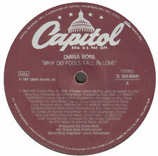 DIANA ROSS - Why Do Fools Fall In Love - Capitol