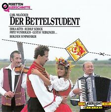 KARL MILLÖCKER : DER BETTELSTUDENT (QS) / CD