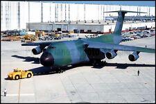 USAF First Camouflaged C-5 Galaxy 22nd MAS Kelly AFB 1983 8x12 Photo