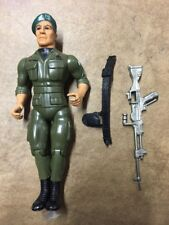 1985 Colonel Trautman Rambo Action Figure With Weapon And Belt Vintage
