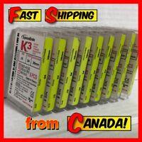 SybronEndo K3 Nickel Titanium Files .04 Taper 6-Pack Model 825-* NEW
