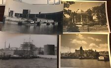 4 Vintage Photographs, Halifax Harbour, Nova Scotia, Ivan S. Brookes. 1970s