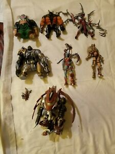 7 Loose McFarlane Toys Action Figures Spawn Clown Tremor More