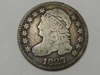 Better-Date 1827 US Capped Bust Dime.  #11