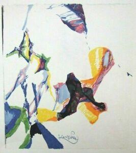 "FRANTISEK (FRANK) KUPKA mounted vintage repro print 12 x 10"" 1964 abstract FK37"