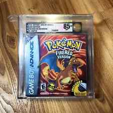 Pokemon Fire Red Version Sealed 1st Print New GBA Game Boy VGA Graded 85+ NM+