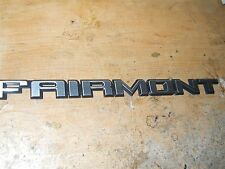 1978 1979 1980 1981 1982 1983 FORD FAIRMONT TRUNK DECKLID NAME PLATE EMBLEM NEW