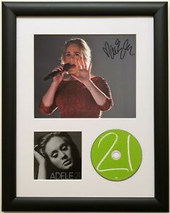 Adele / Signed Photo / Autograph / Framed / COA