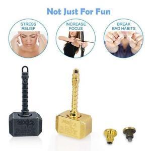 Hammer Shape Fidget Spinner Cool Metal Hand Spinner Portable Stress Relief Toys