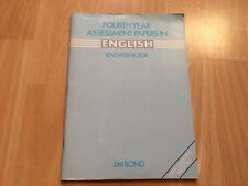 Fourth Year Assessment Papers in English Answer Book Paperback J M Bond
