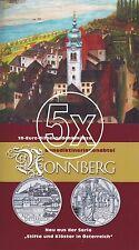 5x Österreich 10 Euro 2006 Silber Stift Nonnberg hgh im Blister