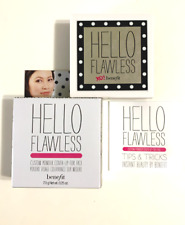 Benefit hello flawless powder Full size 0.25 oz - New in box ( Choose color )