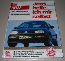 Reparaturanleitung VW Golf III Typ 1H Vento Diesel SDI TDI Baujahre ab 1991 NEU