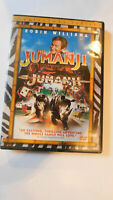 Jumanji (DVD, 2000, Collectors Edition)Rated PG-Action & Adventure