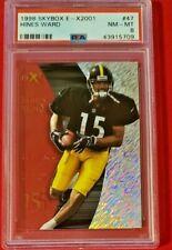 Hines Ward 1998 Skybox E-X2001 Rookie RC PSA 8 NM-MT HOF! Steelers!