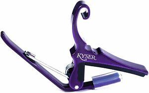 Kyser Quick-Change Capo for 6-string acoustic guitars, Deep Purple, KG6P