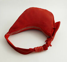 HOGAN by TOD's Tasche Wildleder Rot Top Zustand NP 485,- Authentic Tote Bag Sac