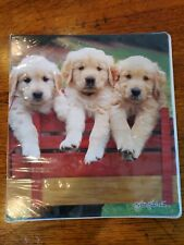 Class Act Keith Kimberlin 1 Subject Binder Puppies Vintage
