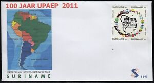 Upaep Suriname 2206/09 2011 100 Years Uniting Cultures SPD FDC On First Day
