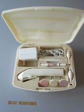 Vintage : Remington Deluxe Electric Manucure - Pedicure Set Complete w hard case