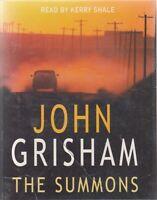 The Summons John Grisham 4 Cassette Audio Book Kerry Shale Thriller FASTPOST