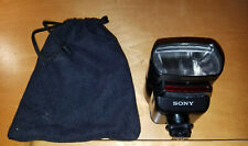 Authentic Sony Hvl-F32X Shoe Mount Flash with Case, Tested