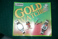 Vintage 2inch Capsule Live Bulk Vending Display Gold Watches