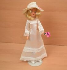 Vintage 1970s Pedigree Sindy Doll With Wedding Bells Dress And Hat Outfit 44288