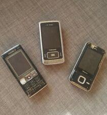 3 Mobile Phones Sony Ericsson K800i Samsung Nokia Job lot Spares & Repairs