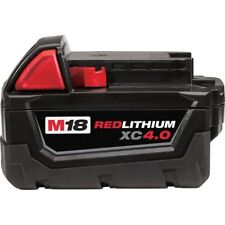 New Genuine Milwaukee M18 battery 48-11-1840 RedLithium XC4.0 Extended Capacity