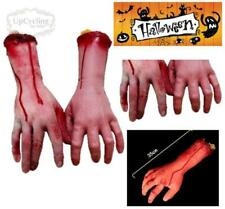 Halloween Fake Bloody Body Parts Arms Hands and Fingers Scary Decorations Props