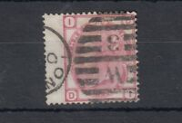 GB QV 1880 3d Rose SG85 Plate 17 VFU J2532