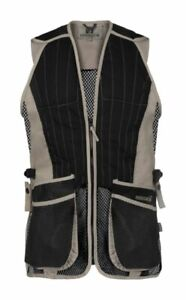 Percussion Skeet Vest Sand Waistcoat Gilet Clay Pigeon Country Hunting Shooting