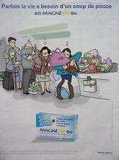 publicité  de presse  MAGNE VIE  B6    en 2011    ref. 38211