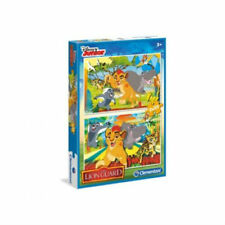 Lot de 2 Puzzles LA GARDE DU ROI LION Clémentoni DISNEY 20 pièces 3 ans et +