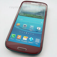 "(Handset Only) Samsung Galaxy S3 Garnet Red SIM Free 4.8"" 16GB 3G GT-I9300"