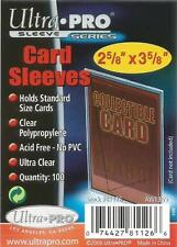 Ultra Pro Soft Trading Card Sleeves Deck Protectors Packs of 100 Standard Sized