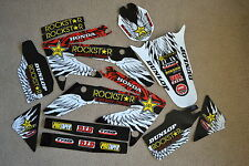 Rockstar race team graphics Honda CRF250 CRF250R 2004  2005 2006 2007 2008 2009