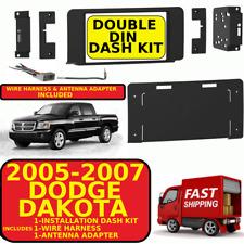 2005-2006-2007 DODGE DAKOTA DOUBLE DIN CAR RADIO STEREO INSTALLATION DASH KIT