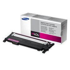 Samsung 406 CLT-M406S Magenta Toner Cartridge F/ CLP-360/365/368, CLX-3300/3305