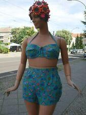 Bikini Badeanzug Rockabilly 50er Plus Size 48 TRUE VINTAGE two-piece swimsuit