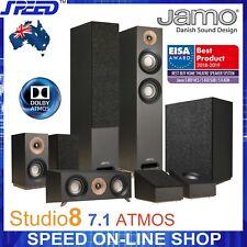 JAMO Studio 8 ATMOS 5.1.2 (7.1) Home Cinema System Speaker Package - (Brand New)