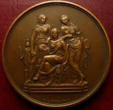 French Bronze medal / ARCHITECTURE / by E. GATTEAUX & H. DUBOIS / 50 mm / N138
