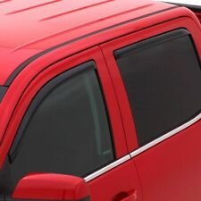 WINDOW VENT VISORS Shades In Channel 194761 For TOYOTA TUNDRA CREW CAB 2007-2020