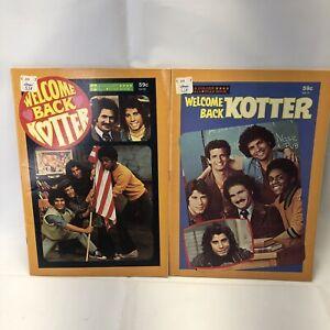 VINTAGE WELCOME BACK KOTTER John Travolta GOLDEN ALL STAR 1977 COMIC BOOK Lot