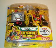 New Fisher-Price Rescue Heroes Voice Tech Video Mission  - Rocky Canyon see pics
