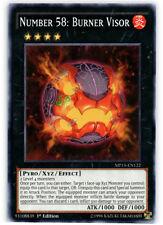 Yugioh! Number 58: Burner Visor - MP15-EN122 - Common - 1st Edition Near Mint, E