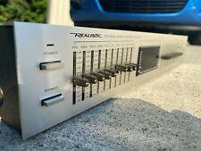 Realistic 31-2020 Zehn Band Stereo Equalizer -silber- Sehr Gut Vintage Audio